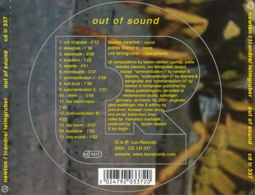 Out of Sound