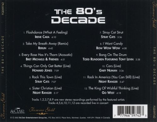 Forever Gold: The 80's Decade
