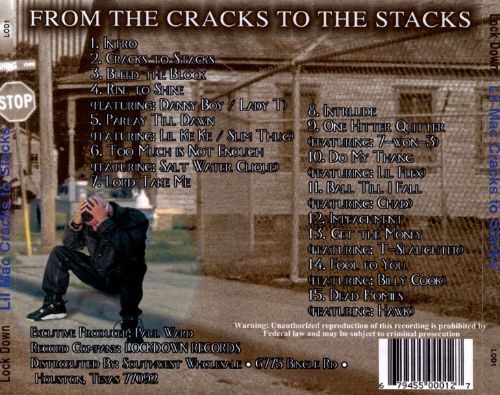 From the Cracks to the Stacks