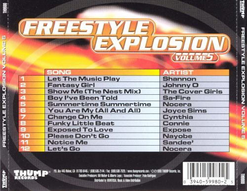 Freestyle Explosion, Vol. 5