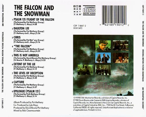The Falcon and the Snowman [Original Motion Picture Soundtrack]