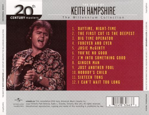 20th Century Masters - The Millennium Collection: The Best of Keith Hampshire