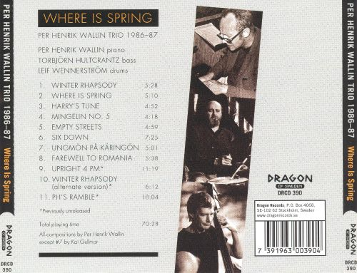1986-87: Where Is Spring