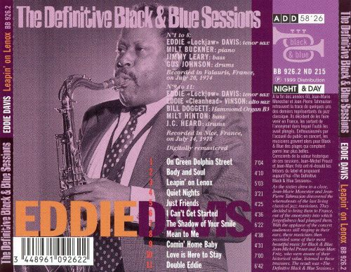 The Definitive Black & Blue Sessions: Leapin' on Lenox