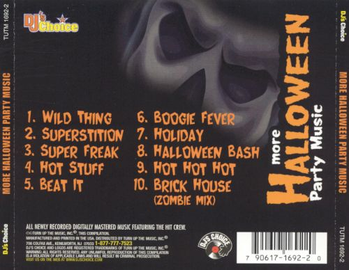 DJ's Choice: More Halloween Party Music - DJ's Choice | Songs ...