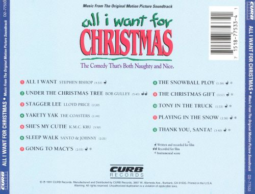 All I Want for Christmas [Soundtrack]