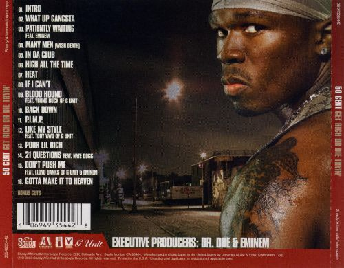 50 cent get rich or die tryin album zip