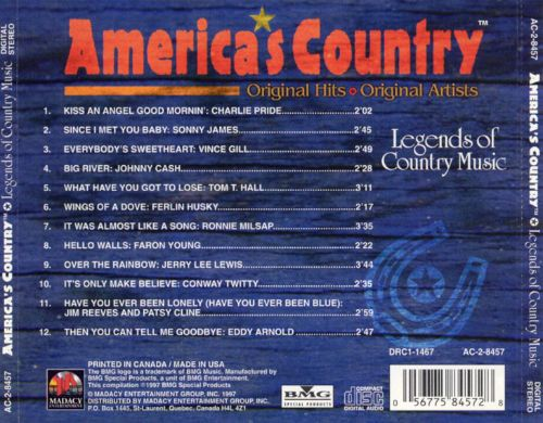 Legends of Country [Madacy]