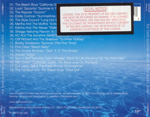 The Best Summer Album in the World...Ever! [1999]