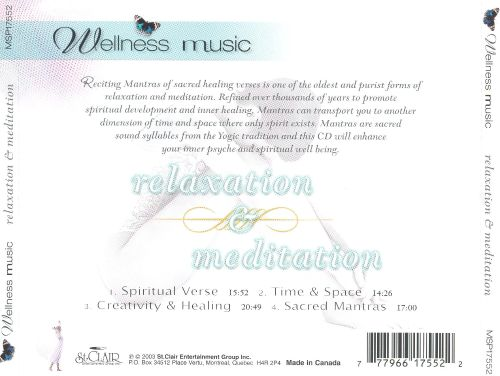 Wellness Music: Relaxation and Meditation