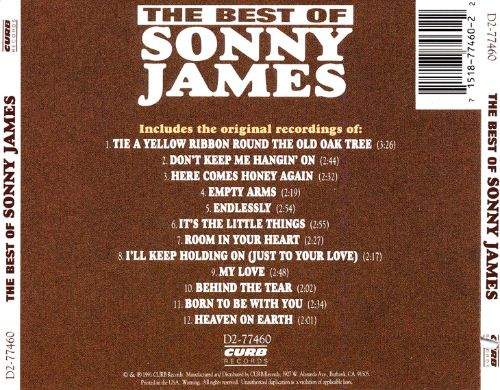 The Best of Sonny James [Curb]