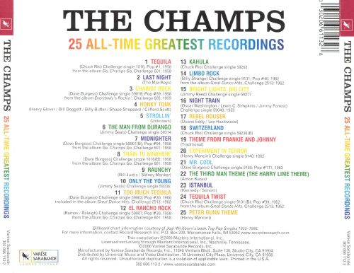 25 All-Time Greatest Recordings