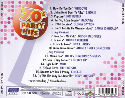 Various Artists 70s Party Hits