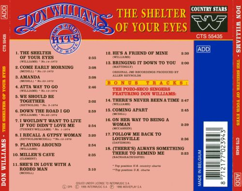 Shelter of Your Eyes: Early Hits & More