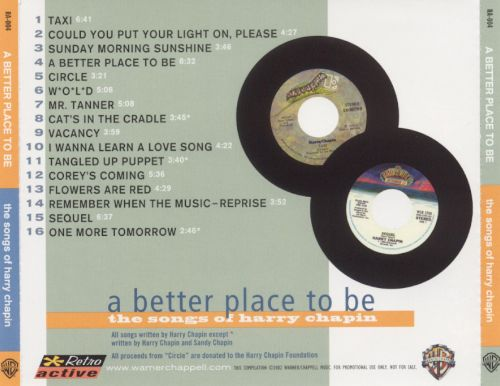A Better Place to Be: The Songs of Harry Chapin