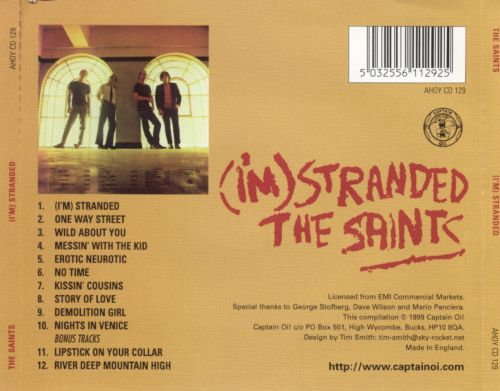 I M Stranded The Saints Songs Reviews Credits