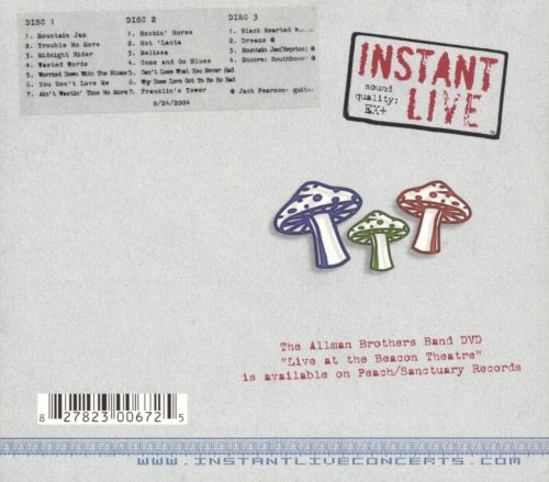 Instant Live: Fox Theatre - Atlanta, GA, 9/24/04