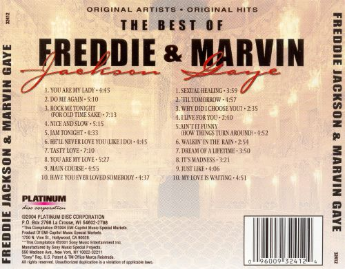 The Best of Freddie Jackson and Marvin Gaye