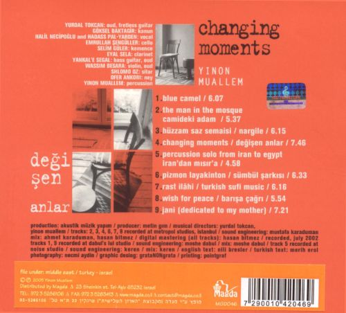 Changing Moments: Degisen Anlar