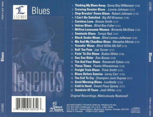 Legends: Blues Legends