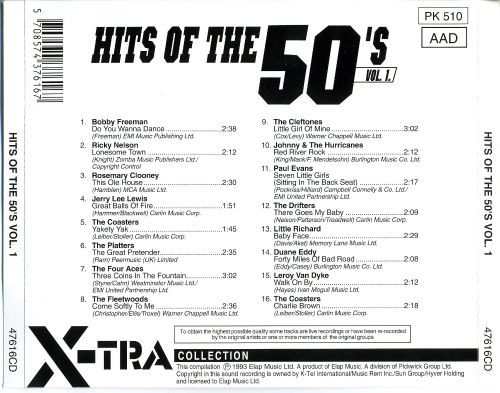 Hits of the 50's, Vol. 1