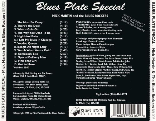 Blues Plate Special