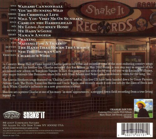 Live at Shake It Records