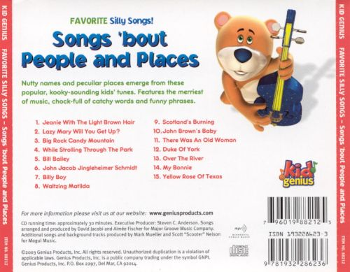 Silly Songs 'Bout People and Places