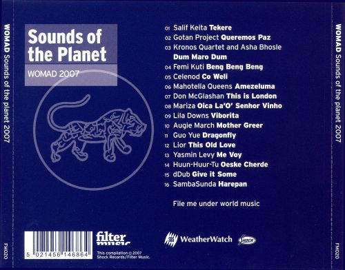 Sounds of the Planet: Womadelaide 2007