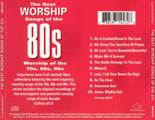 The Best Worship Songs Of 80s