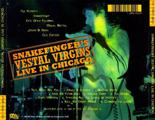 Snakefinger's Vestal Virgins: Live in Chicago