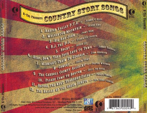 K-Tel Presents: Country Story Songs