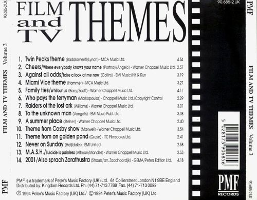 Film and TV Themes, Vol. 4
