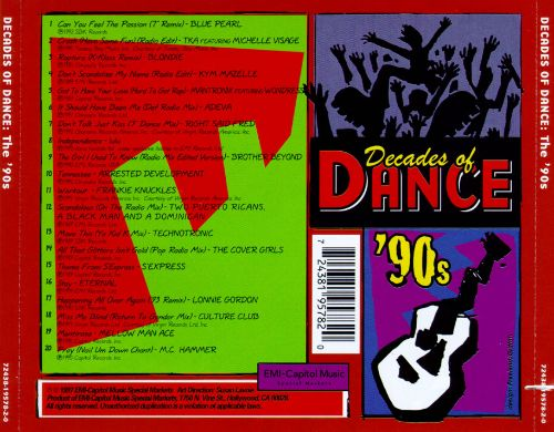 Decades of Dance: The 90's