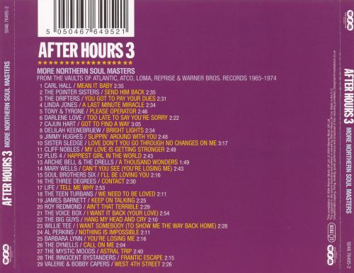 After Hours, Vol. 3: More Northern Soul Masters
