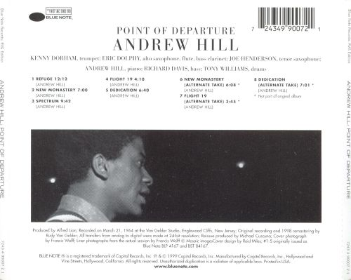 Point Of Departure Andrew Hill Songs Reviews Credits Allmusic