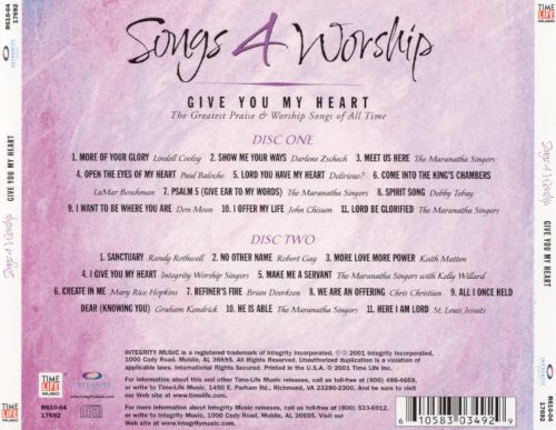Songs 4 Worship: Give You My Heart