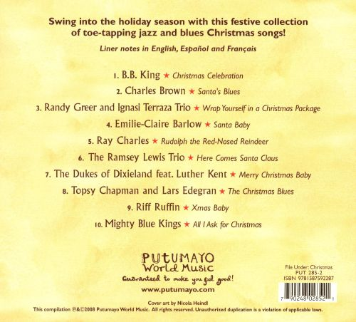 Putumayo Presents: Jazz & Blues Christmas - Various Artists ...
