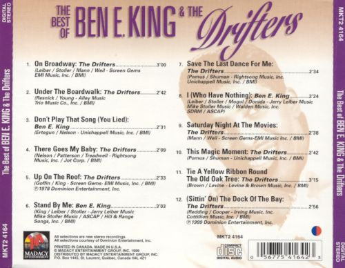 The Best of Ben E. King & the Drifters [Madacy]