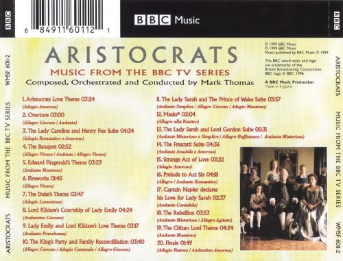 Aristocrats [Music from the Major BBC TV Series]