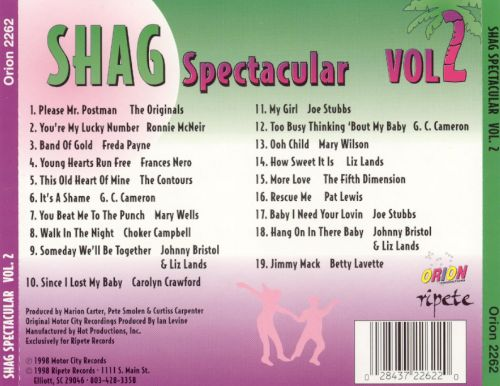 Shag Spectacular, Vol. 2
