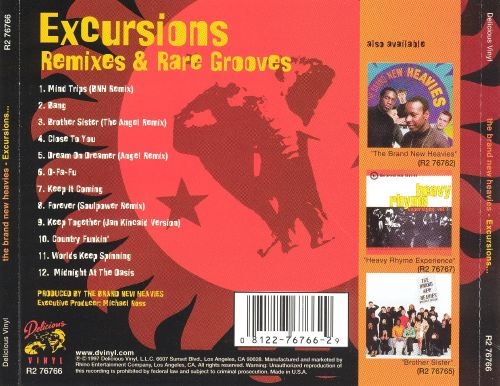 Excursions, Remixes & Rare Grooves