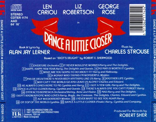 Dance a Little Closer [Original Broadway Cast]