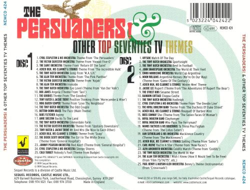 The Persuaders! & Other Top Seventies TV Themes