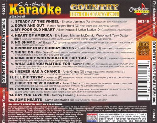 Country Hits of February 2006