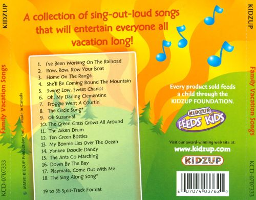 Family Vacation Songs