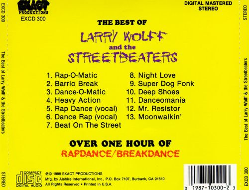 The Best of Larry Wolff & the Streetbeaters