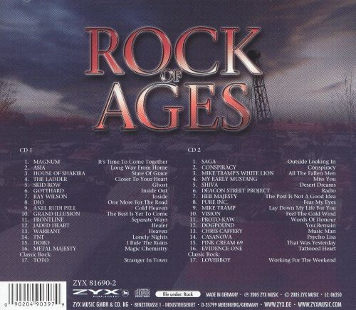 Rock of Ages: The Finest in AOR & Melodic Hard Rock