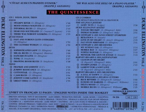 The Quintessence Chicago - New York - Hollywood, Vol. 2: 1928-1950