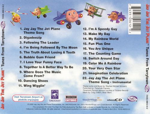 Tunes From Tarrytown Jay Jay The Jet Plane Songs Reviews